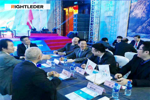 "RIGHTLEDER· ENVIRONMENTAL Attended ""The Belt and Road Overseas Trade Cooperation· Summit for Central Asia"""