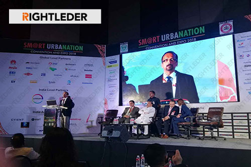 "RIGHTLEDER was Invited to Participate in ""2018 China-India Smart Urbanization Cooperation Conference"""